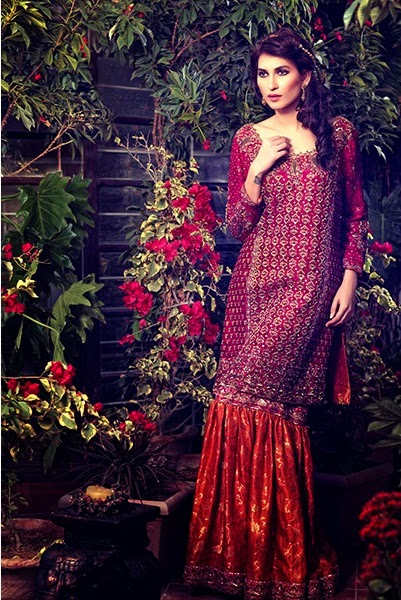 Umsha by Uzma Bridal Dresses Collection