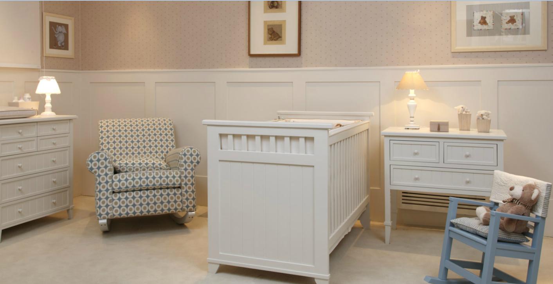 Cuartos de beb s en colores neutros dormitorios colores - Papel pintado para habitacion bebe ...