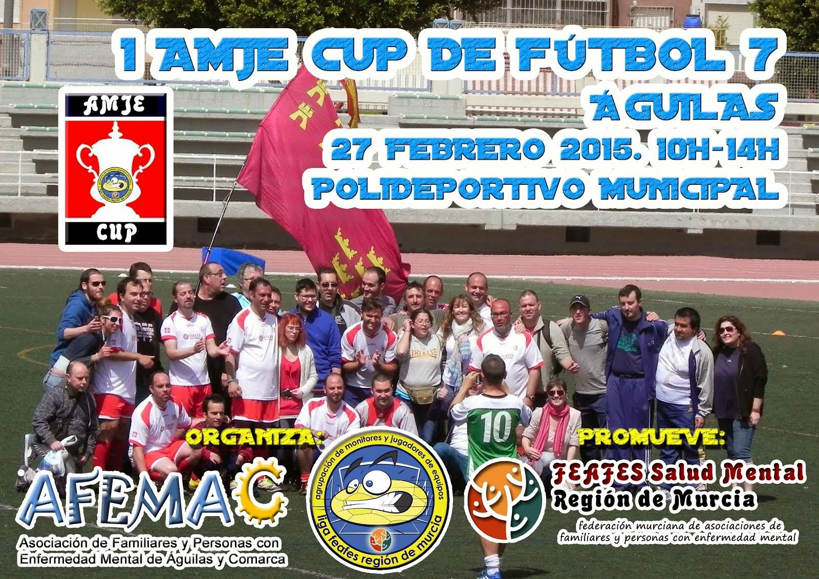 CARTEL DE LA AMJE CUP 2015