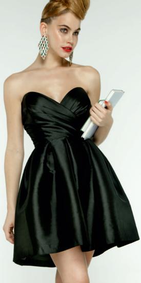 vestidos cortos fiesta 2012