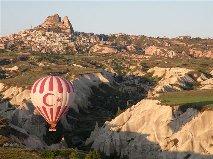 Hot Air Balloon Turkey. Photograph by Janie Robinson, Travel Writer