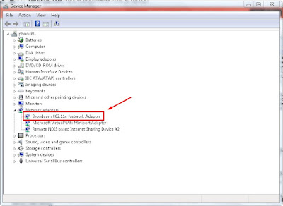 driver wifi di laptop
