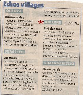 Thé dansant 01/2012