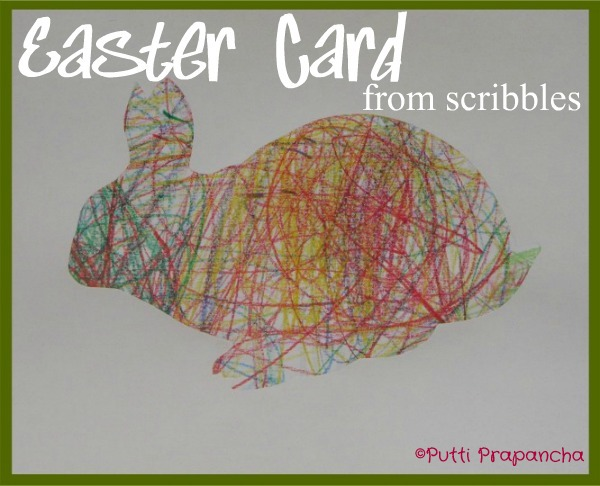 Easter Silhouette Cards from Puttis art work Puttis World – Easter Cards for Kids