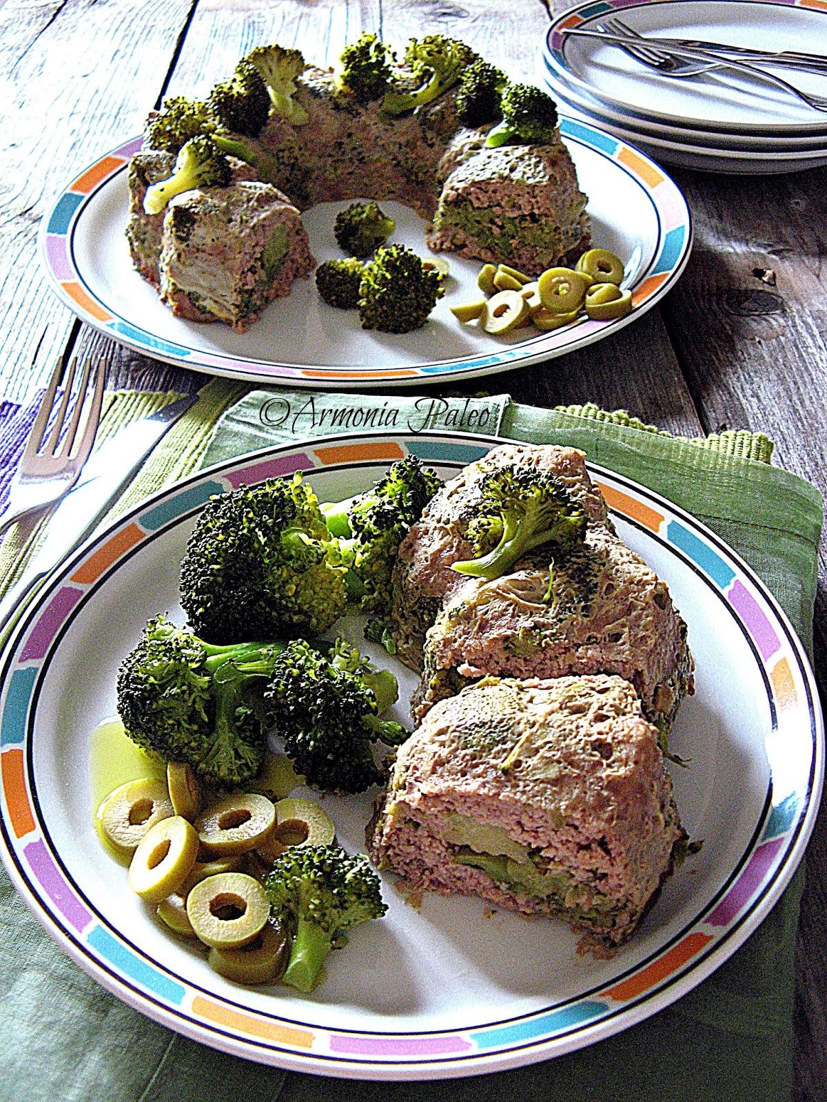 Timballo di Carne e Broccoli di Armonia Paleo