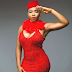 Yemi Alade dazzles in red hot dress for a new promo photo