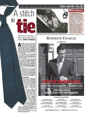 The slip stitch: The secret of a good tie