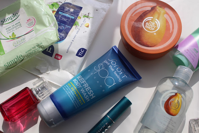 Products used up and empties