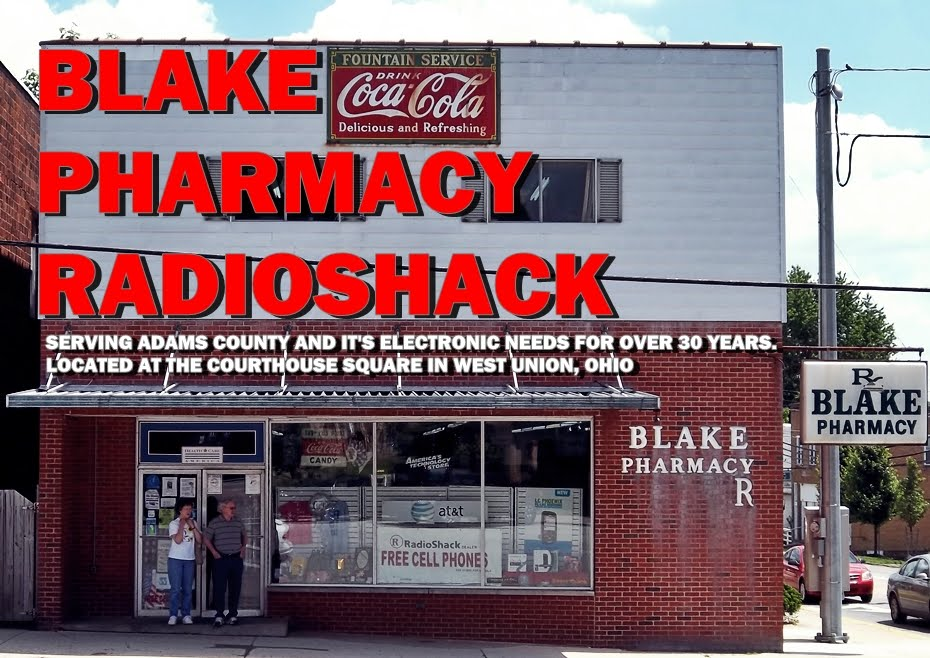 BLAKE PHARMACY RADIOSHACK