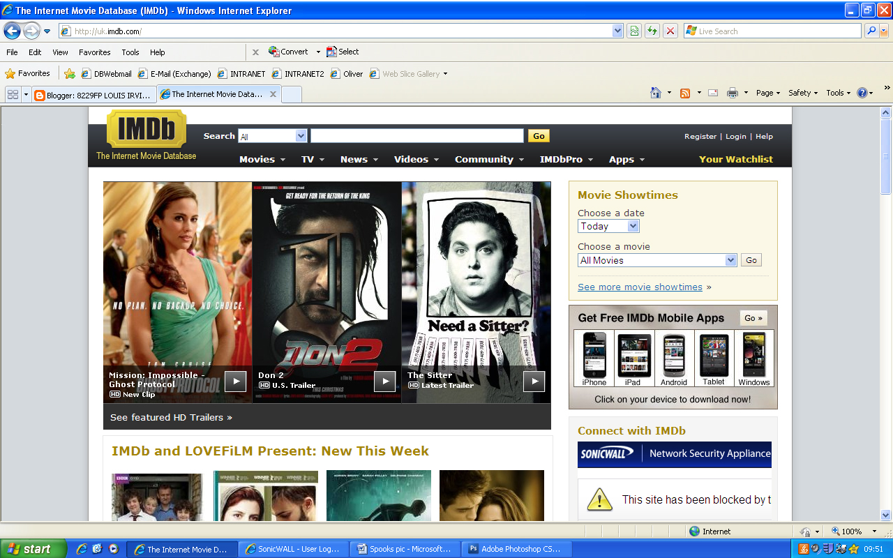 the internet movie database essay Internet movie database  first of all, it's important to note that the rating system on imdb, which happens to be my favorite site on the internet, is incredibly.