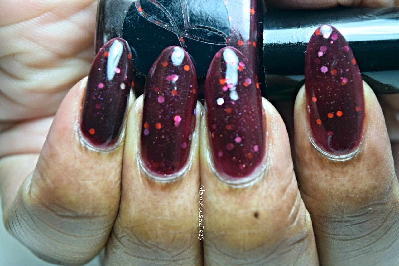 #018 Deep Red Swatch; Jior Couture