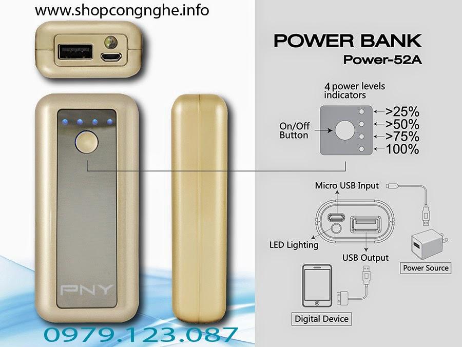 pin sac du phong pny powerbank Nên hay không nên chọn mua pin sạc dự phòng giá thấp ngoài thị trường