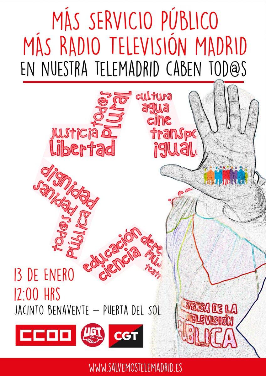 sábado 13 por una Tele Madrid de Calidad