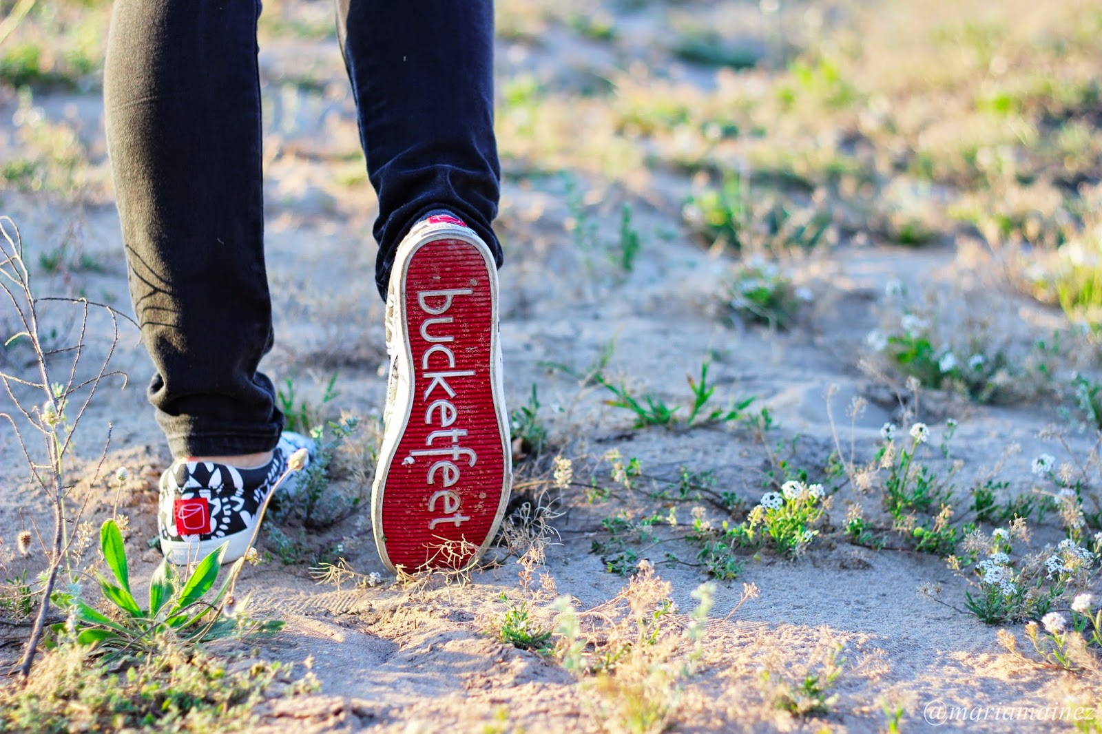 Bucketfeet - fashion blogger - calzado plano - calzado cómodo - suela roja