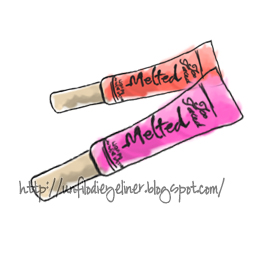 Melted Too Faced Make up Illustration