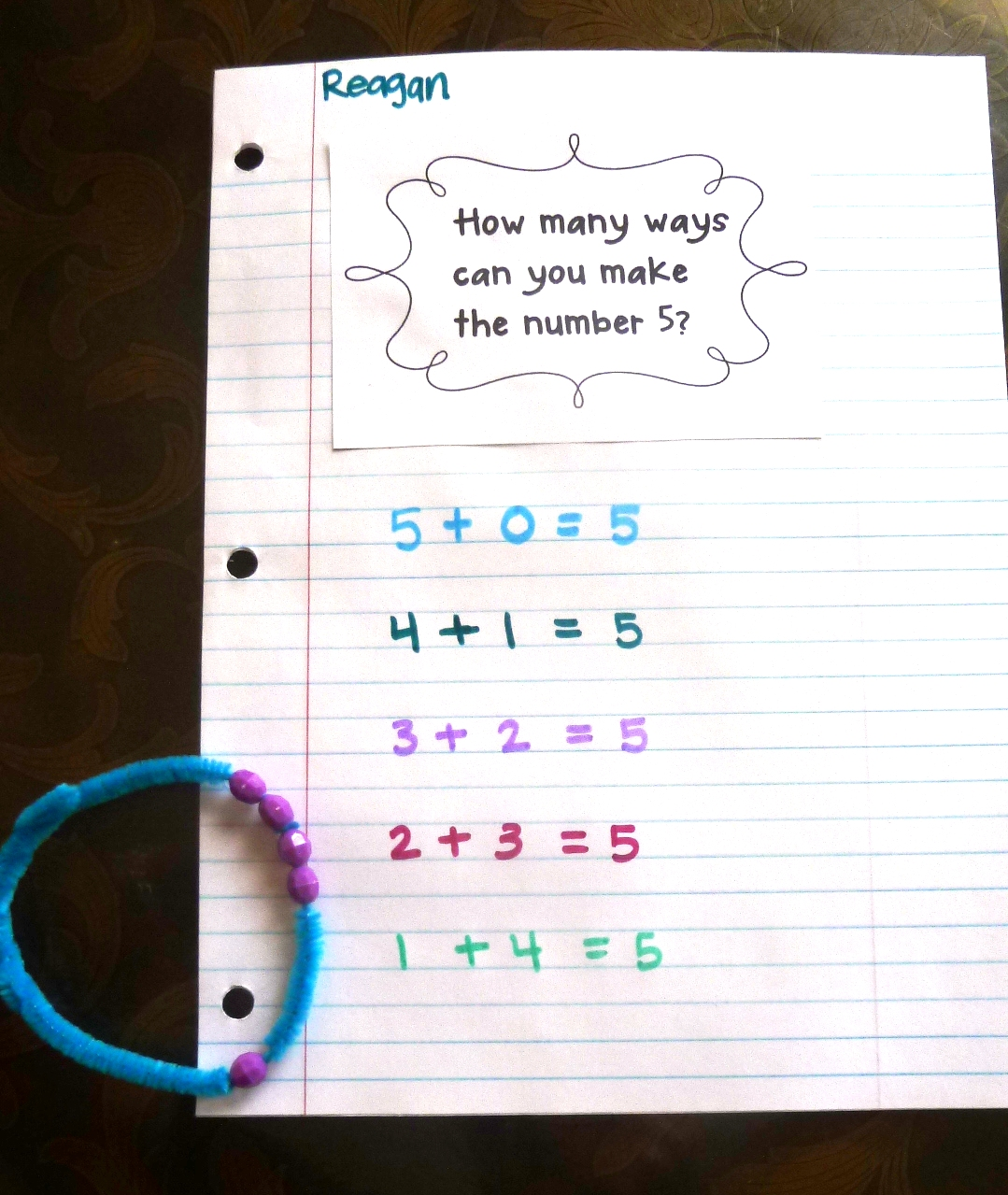 Worksheet First Grade Number Stories simple number stories for first grade two step story problems math worksheet bracelets tunstall s teaching tidbits grade