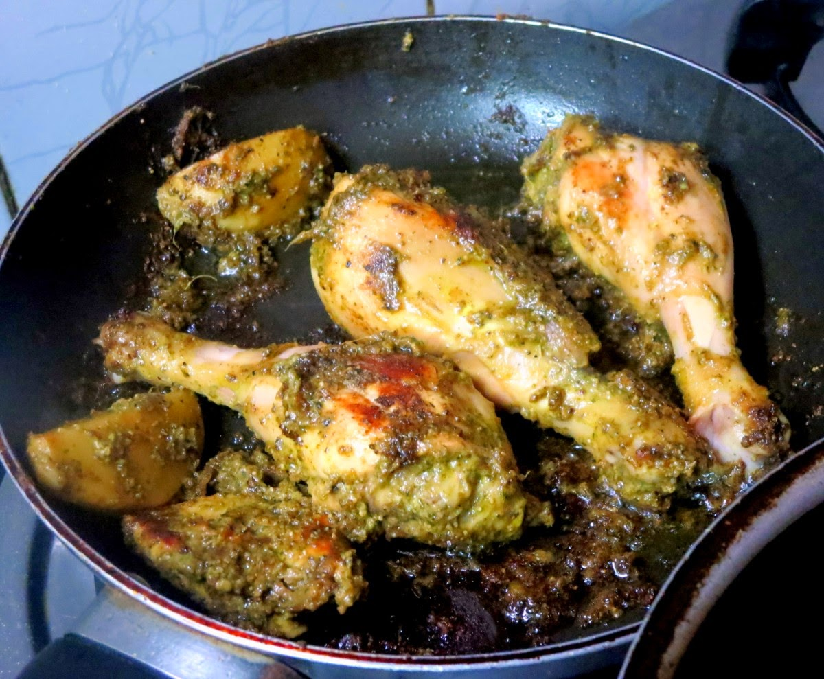 Cooking 4 all Seasons: Spicy Roasted Chicken Legs
