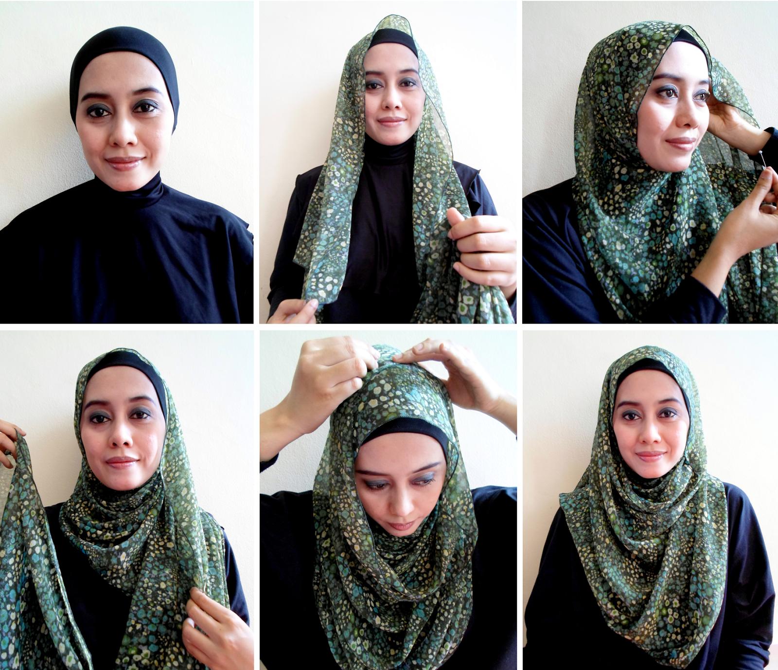 29 Kumpulan Tutorial Hijab Pashmina Rabbani Terbaru Tutorial