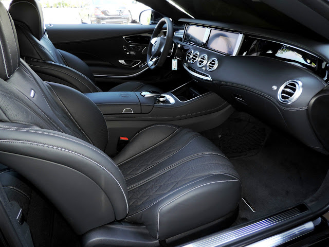 mercedes s 65 amg coupe interior