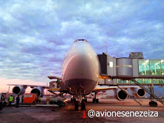 Asi llegaba el Boeing 747-8 Intercontinental, por primera vez a Buenos Aires