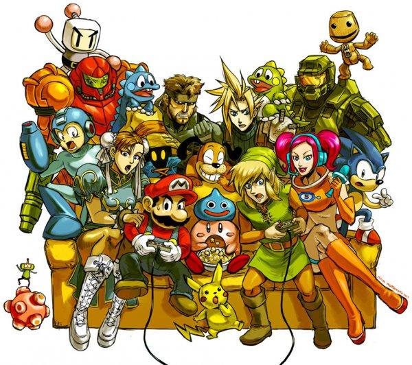 50 personagens mais importanges dos games
