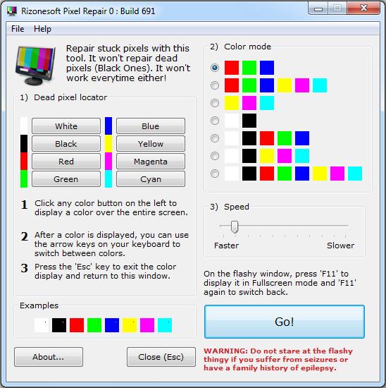 Cara Memperbaiki Stuck Pixel Menggunakan Rizonesoft Pixel Repair