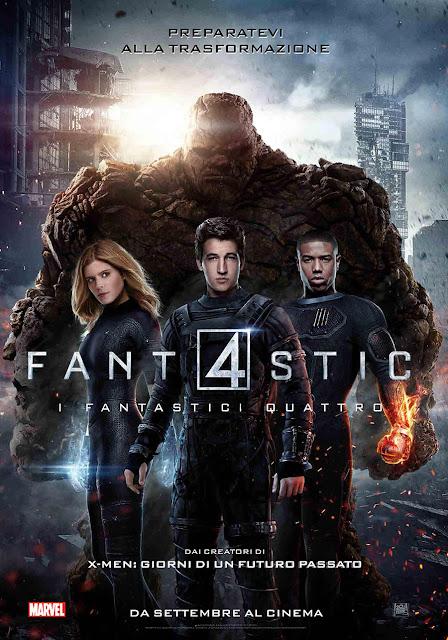 Fantastic 4 I Fantastici Quattro recensione poster