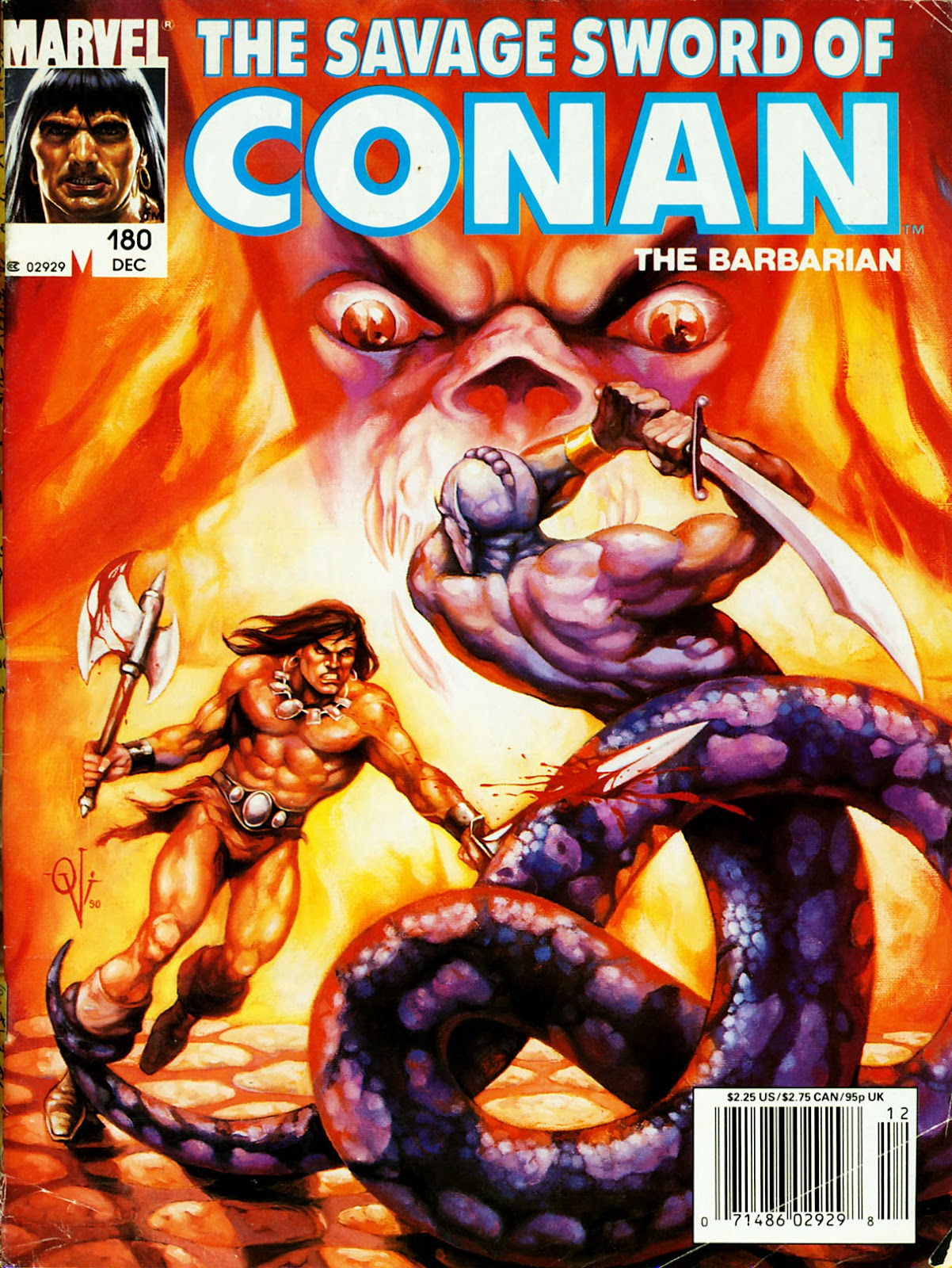 The Savage Sword Of Conan Issue #180 #181 - English 1