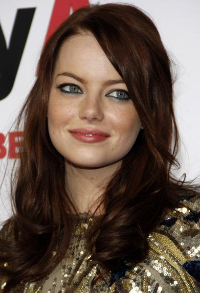 dark auburn hair color trends
