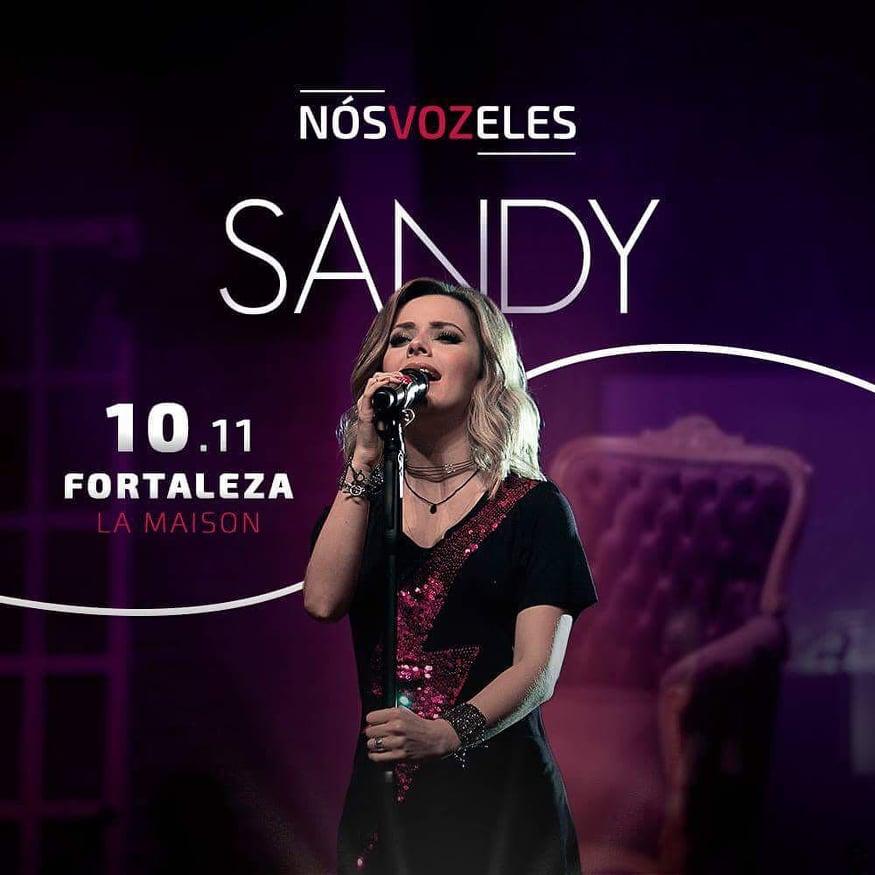 Sandy em Fortaleza