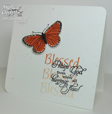 Our Daily Bread Designs, Large Scrapbook words, Butterfly Single, Butterfly die, Angie Crockett