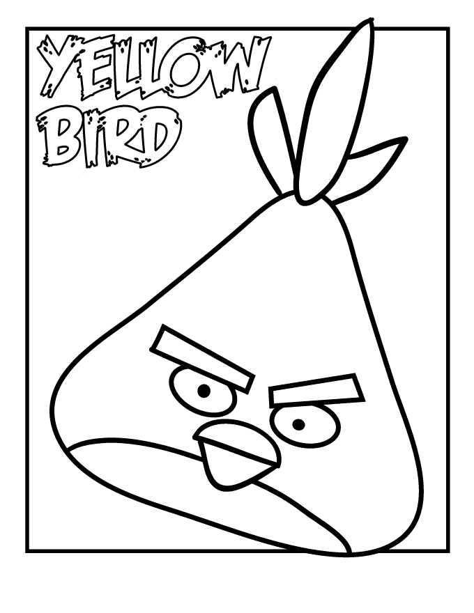 angry birds coloring pages for kids - Feelings Coloring Pages Printable