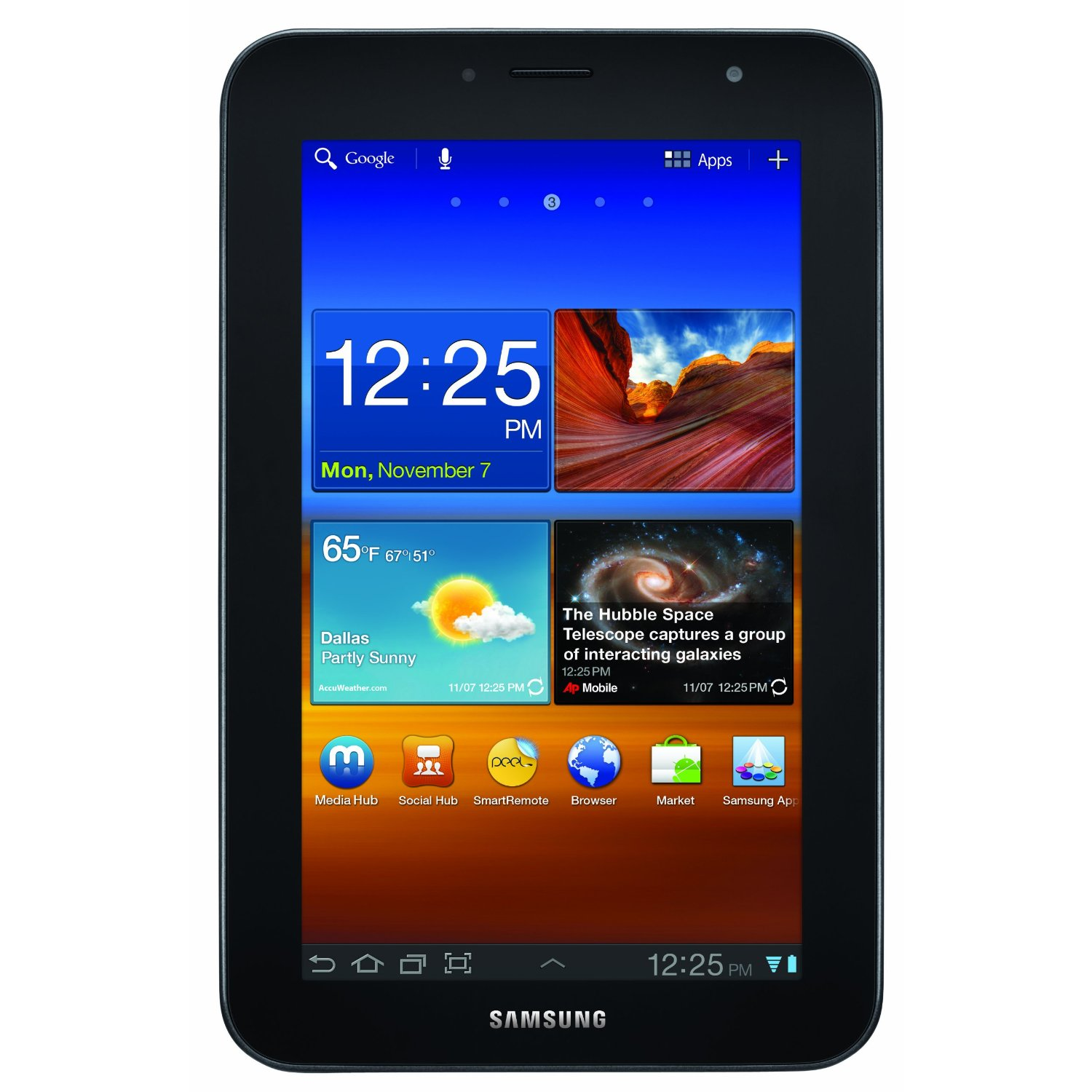 Samsung Galaxy Tab 7.0 Plus 7-inch Dual Core Android 3.2 ...