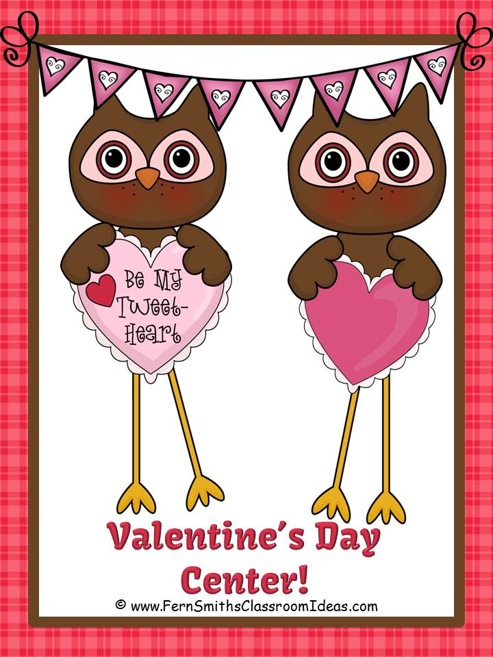 Fern Smith's FREE Noun or Verb Valentines Day Task Cards at Classroom Freebies