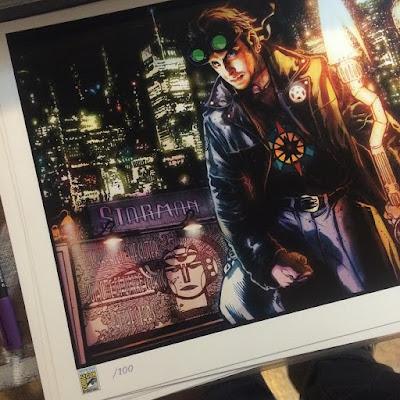 San Diego Comic-Con 2015 Exclusive Starman 20th Anniversary Print by Tony Harris