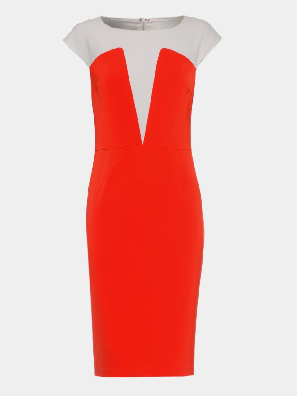 Sonia kruger concealed plunge dress