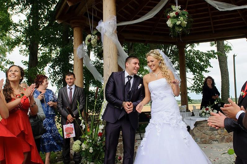 vestuvės bistrampolyje