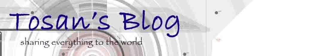 Tosan's Blog