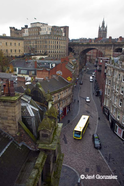 viaje en caravana, Edinburgh, Newcastle, Scotland, UK,