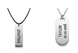 Name Necklaces for Men