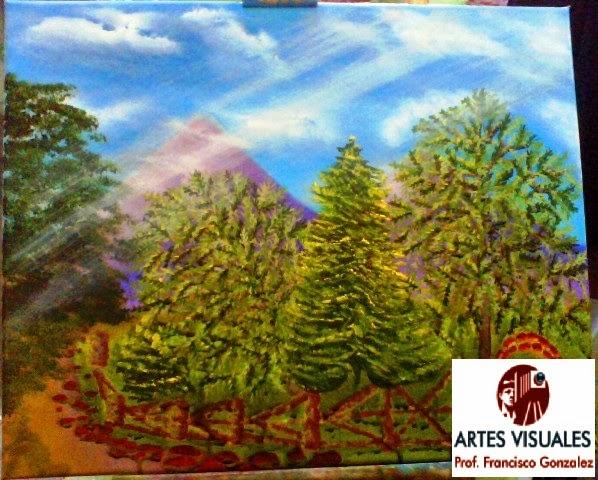 Artes visuales prof francisco gonzalez reyna pintura al - Donde estudiar pintura ...