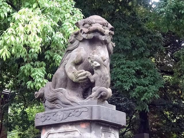 狛犬,神明宮〈著作権フリー無料画像〉Free Stock Photos