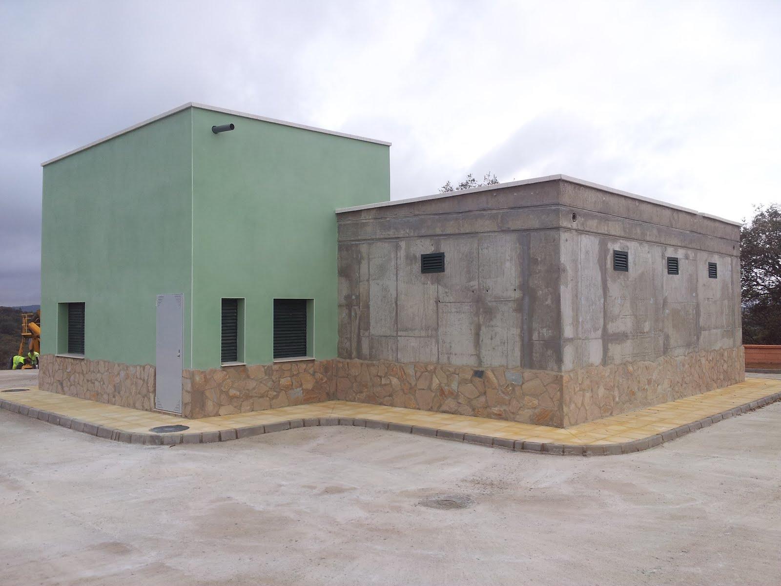 Nuevo depósito de agua municipal