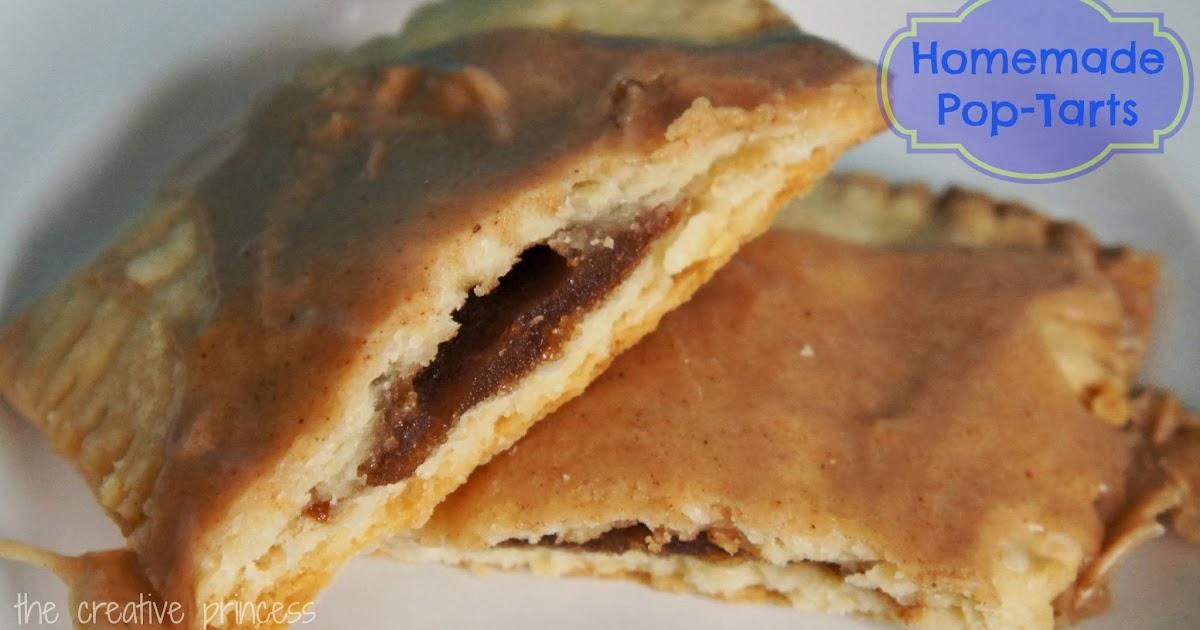 The Creative Princess: Homemade Brown Sugar and Cinnamon Pop-Tarts
