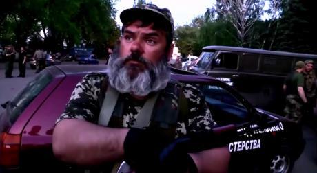 Aleksandr 'Babai' Mozhayev in a YouTube address to the people of Ukraine. (via YouTube)
