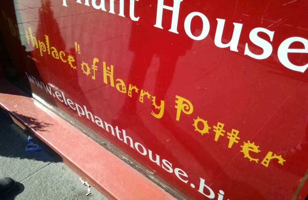 The Elephant House: Birthplace of Harry Potter
