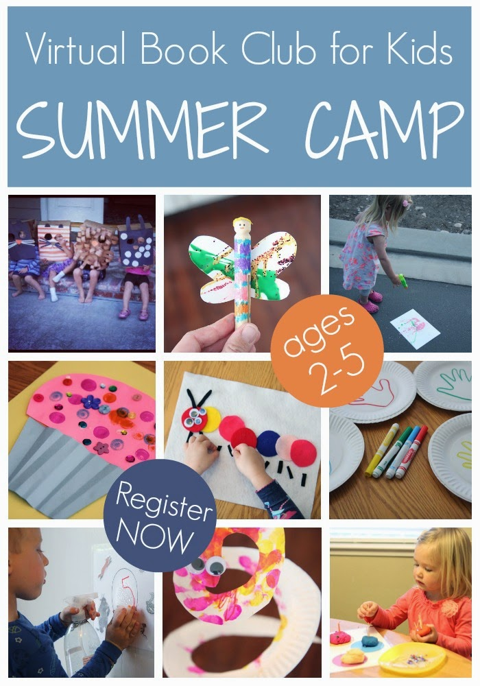 Virtual Book Club Summer Camp Includes THREE Weeks Of Childrens Themed Crafts And Activities For Kids Ages 2 5 This Was The Highlight My