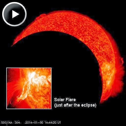 SOLAR FLARE M6