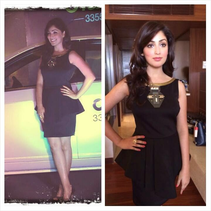 Yami Gautam at Launch of OLA mini cabs in Delhi