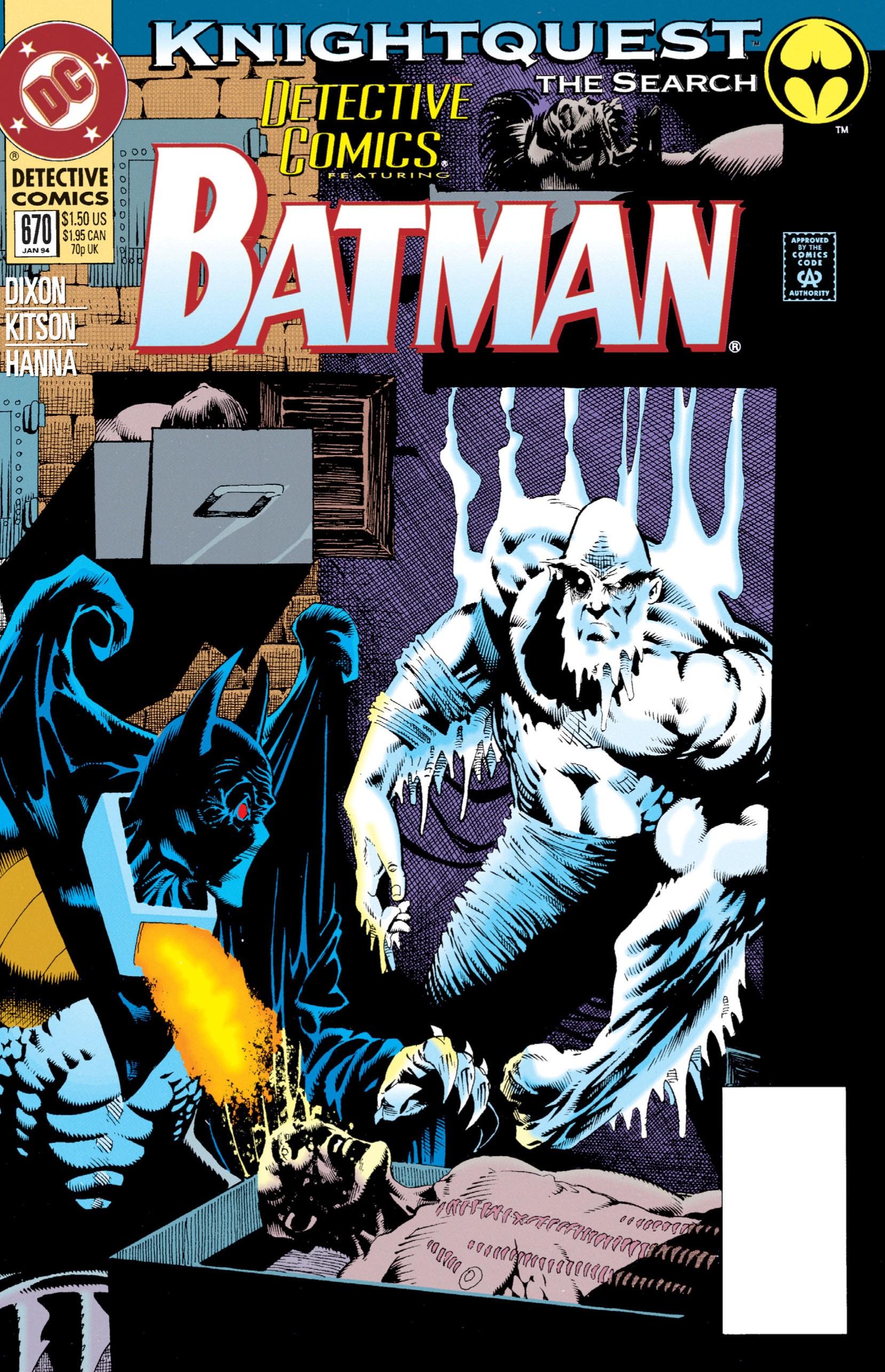 Detective Comics (1937) 670 Page 1